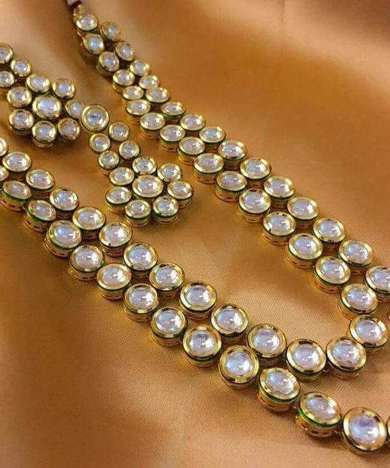 Buy Shining Diva Party Wear Traditional Kundan Jewellery Set ...