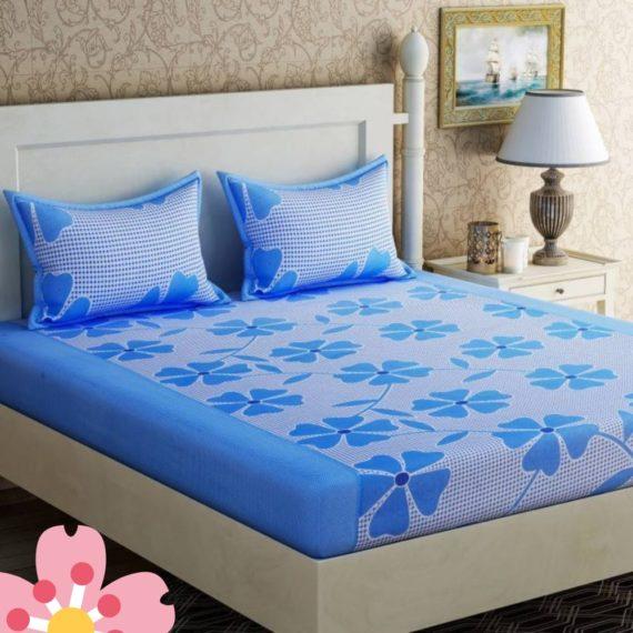 Blue Double Bedsheet