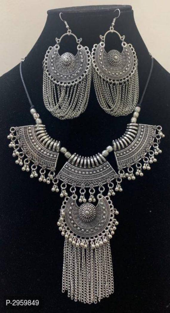 Oxidized Silver Jewelery