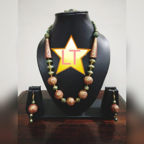 TERRACOTA NECKLACE SET