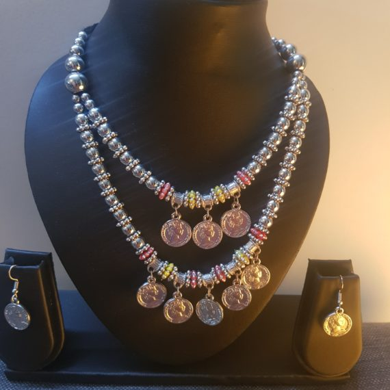 Tribal Jewellery Coin Necklace Set
